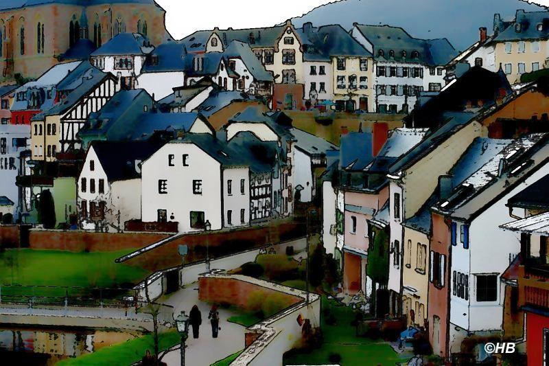 Bilder einer Stadt: Saarburg
