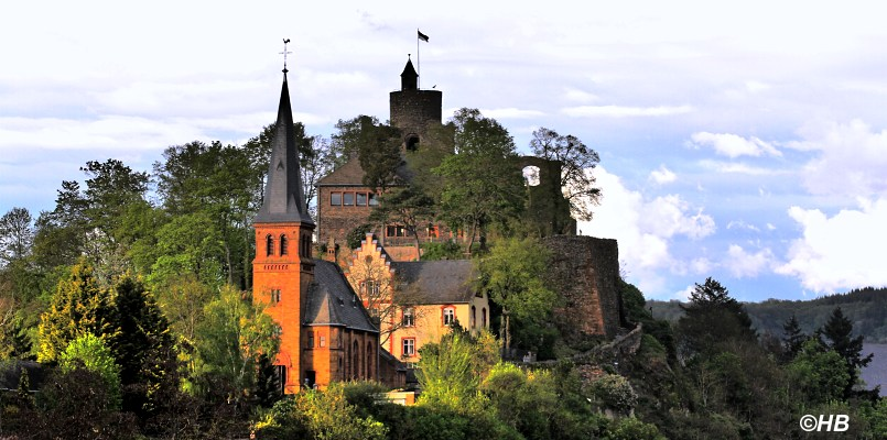 Malerische Ansichten: Saarburg an der Saar