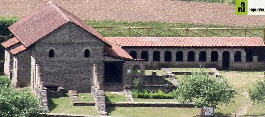 Römermauern am Ortsrand: Villa Urbana in Longuich-Kirsch an der Mosel