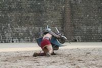 Das Amphitheater in Trierals Ort aufregender Gladiatorenkämpfe  zur Römerzeit.