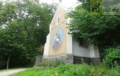 Mosaik auf der St. Annna-Kapelle.