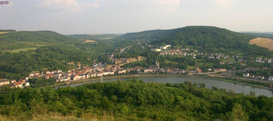 Blick zum Moseltal bei Sierck-les-Bains