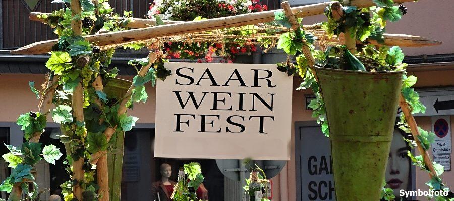 Saarweinfest in Saarburg
