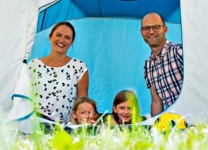 Einen Zeltplatz für Abenteuerlutige gibt  es im Ravensburger Spieleland.  Bildquelle: Ravensburger Spieleland.