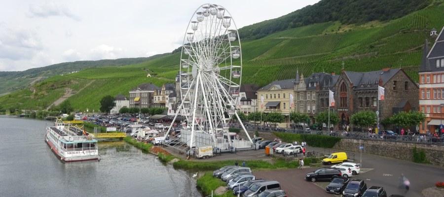 Riesenrad in Bernkastel-Kues