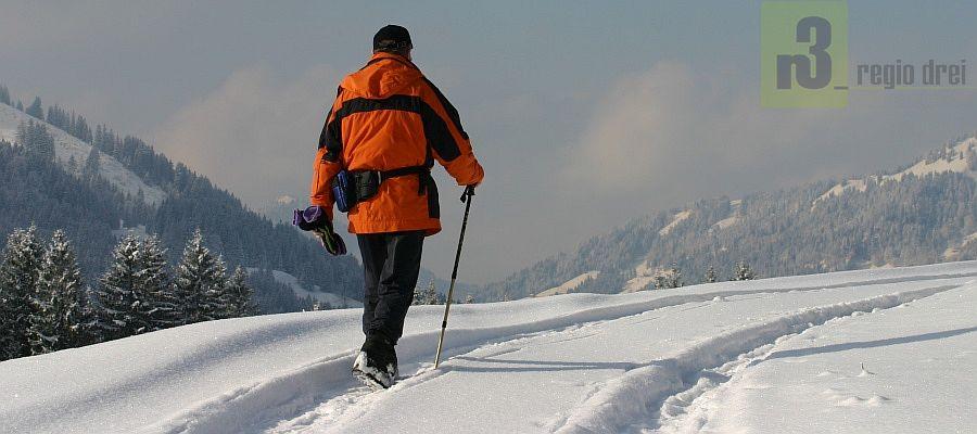 Winterwandern in Balderschwang.