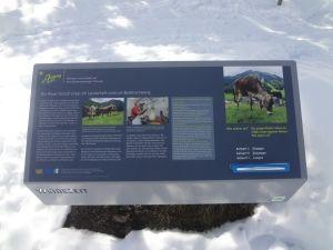 16 Erlebnisstationen werden auf dem Zettweg in Balderschwang passiert.