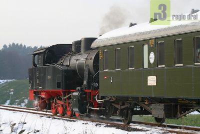 Museumsfahrten auf den Bahnanlagen der  ehemaligen Merzig-Büschfelder-Eisenbahn (MBE).