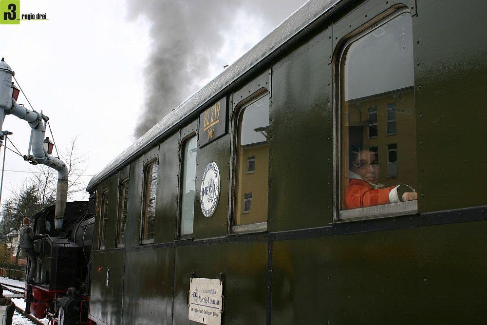 Eisenbahnnostalgie im Saarland: Museumseisenbahn in Losheim am See