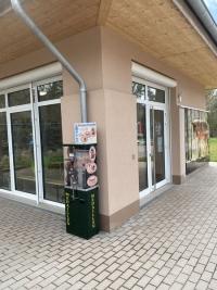 Münzprägeautomat am Wolfspark: Fotoquelle: Kreisstadt Merzig