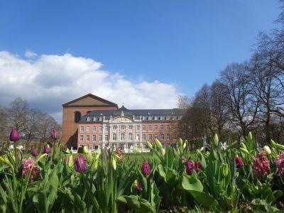Der Trierer Palastgarten im Frühling. Archiv/Foto: regiodrei
