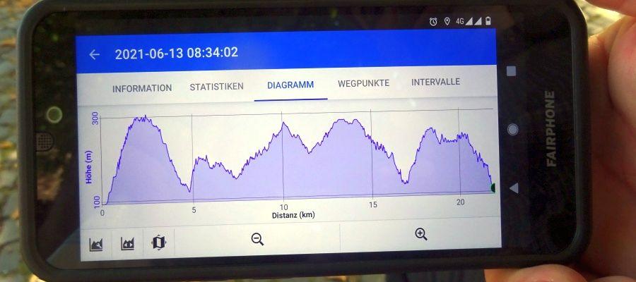 Bei der Wanderung von Zell (Mosel) nach Neef sind einige Höhenmeter zu absolvieren. Foto: regidrei (hb)