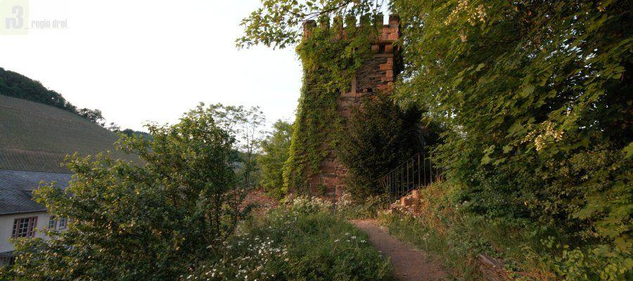 Turms Belvedere in Saarburg