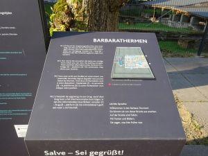 Am UNESCO-Welterbetag 2021 gibt es auch eine kostenfreie digitale Führungen durch die Barbarathermen in Trier. Foto: H.Bruxmeier