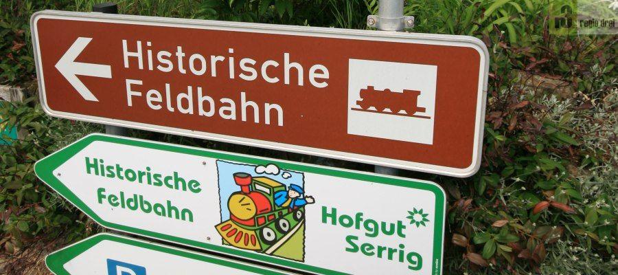 Historische Feldbahn in Serrig