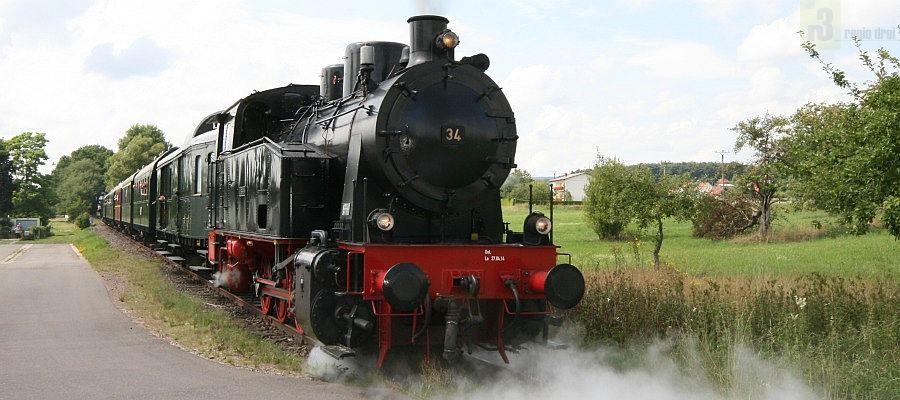 Dampflokfahrt, Losheim am See
