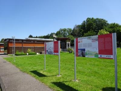 Museumsgebäude im  Archäologiepark Belginum.