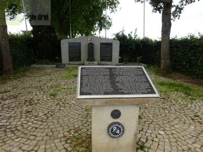 Das deutsch-amerikanische Friedensdenkmal Monument of Peace.