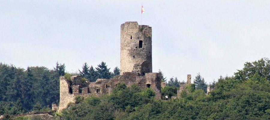 Burgruine Winneburg.