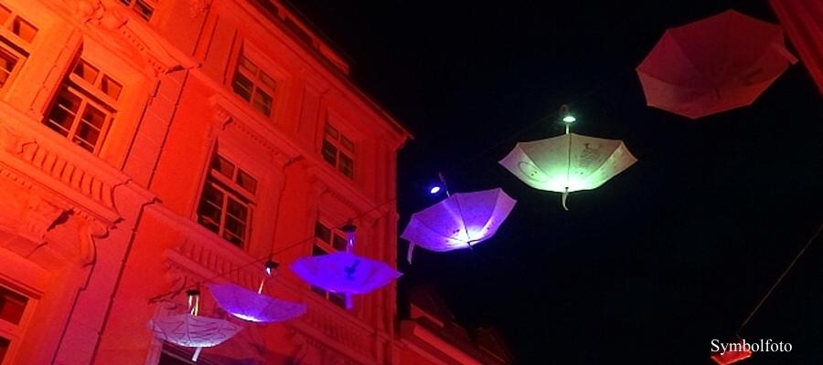 Lichtkunstfestival in Trier